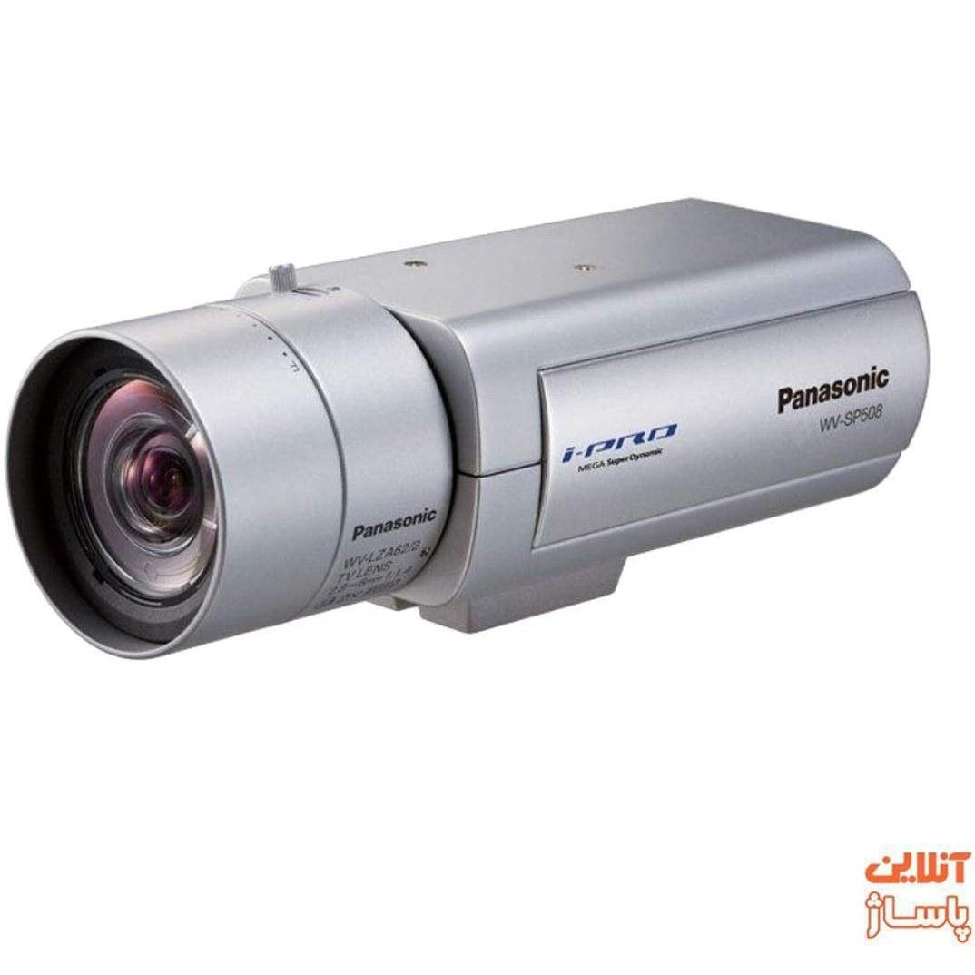 تصویر دوربین مداربسته تحت شبکه پاناسونیک مدل WV-SP508