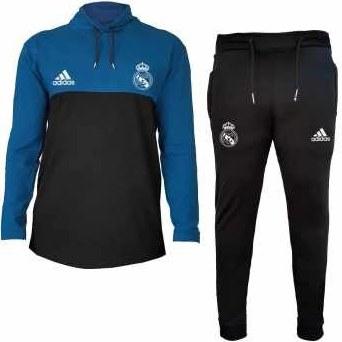 ست تی شرت و شلوار ورزشی مردانه طرح رئال مادرید کد 1474 |