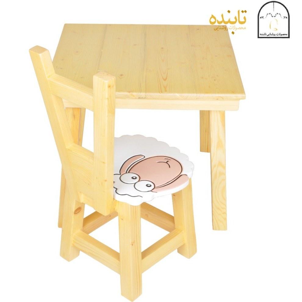 تصویر میز و صندلی کودک