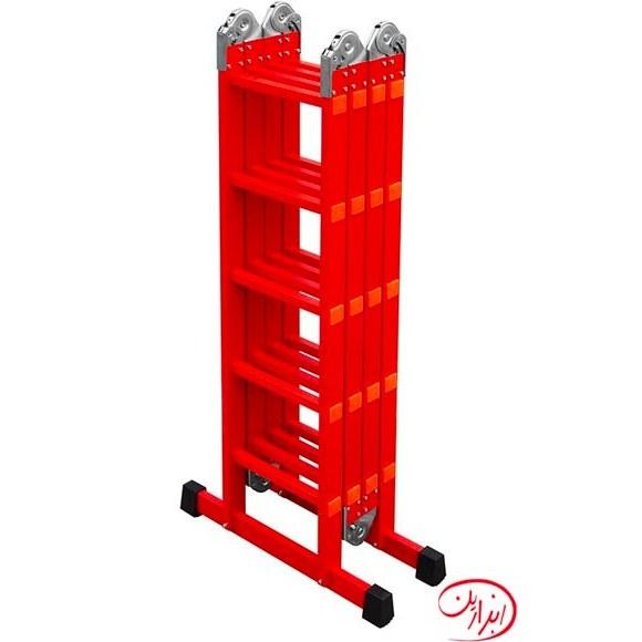 main images نردبان پله ای 4 تکه آسانکار (16،12و 20پله)