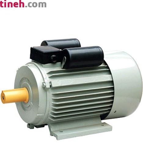 تصویر الکتروموتور تک فاز خازن استارت (CS) 2.2 کیلووات (3 اسب) 3000 دور فریم 100L استریم ا Single-phase starter capacitor (CS) electric motor 2.2 kW (3 hp) 3000 rpm 100L stream Single-phase starter capacitor (CS) electric motor 2.2 kW (3 hp) 3000 rpm 100L stream