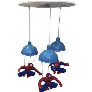 لوستر اتاق کودک طرح مرد عنکبوتی مدل 11251 |