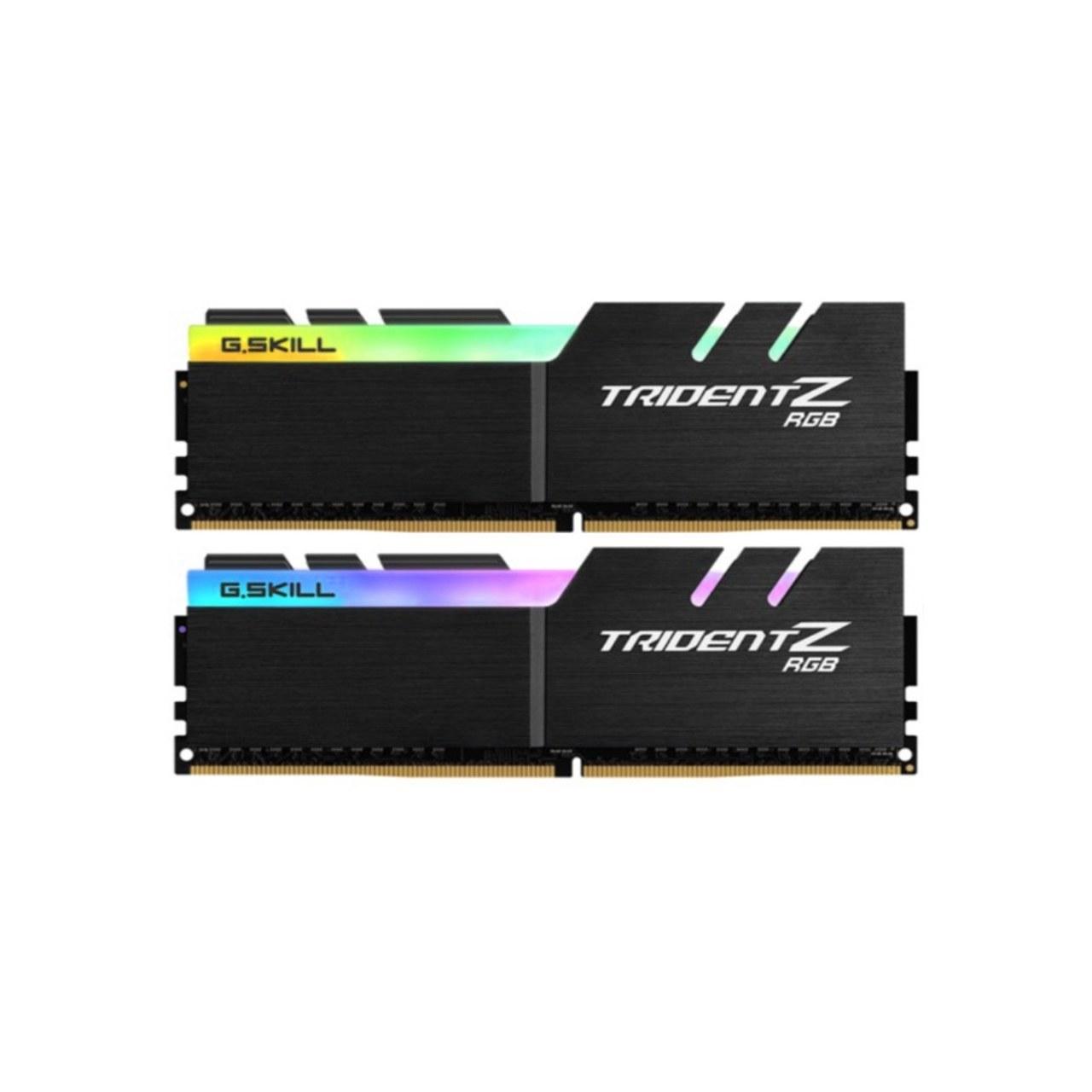 تصویر رم دسکتاپ DDR4 جی اسکیل دو کاناله 3600 مگاهرتز  مدل Trident Z RGB ظرفیت 64 گیگابایت CL16