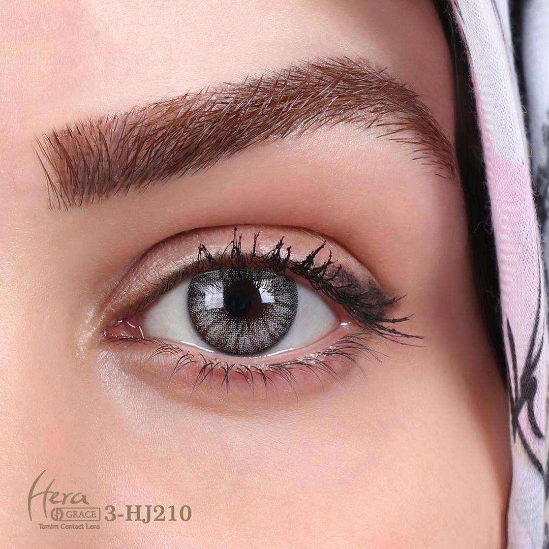 تصویر لنز چشم گریس هرا شماره 3 رنگ خاکستری