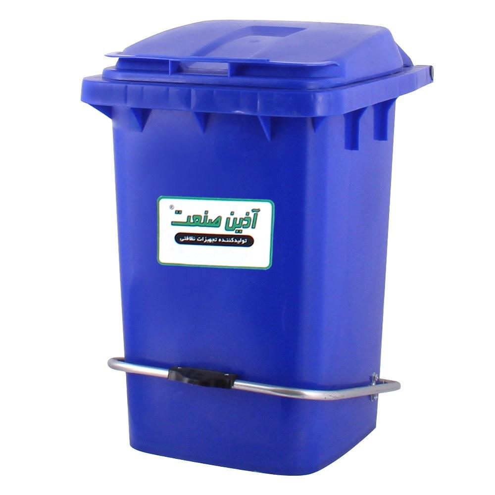 تصویر سطل زباله پدالدار 60 لیتری