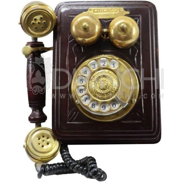 تلفن چوبی دیواری