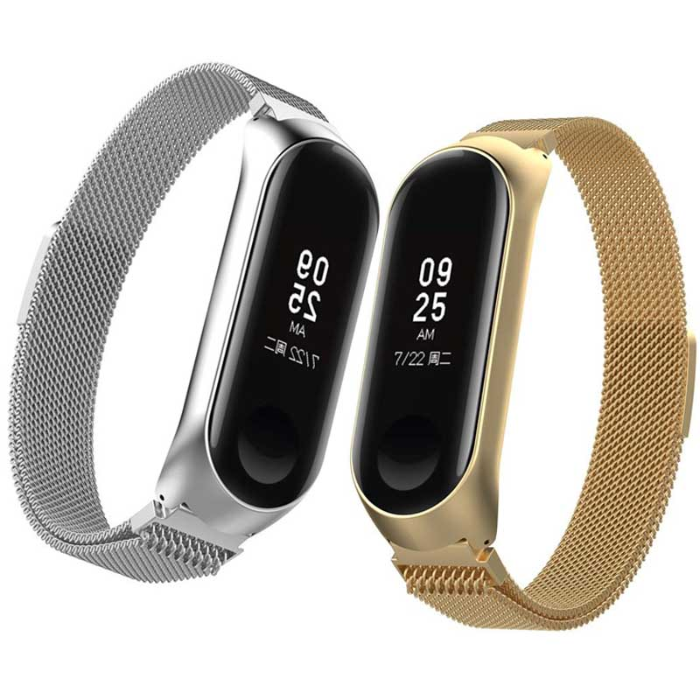 بند استیل حصیری ساعت هوشمند شیائومی Xiaomi Minalese Loop Bracelet | Mi Band 4 |