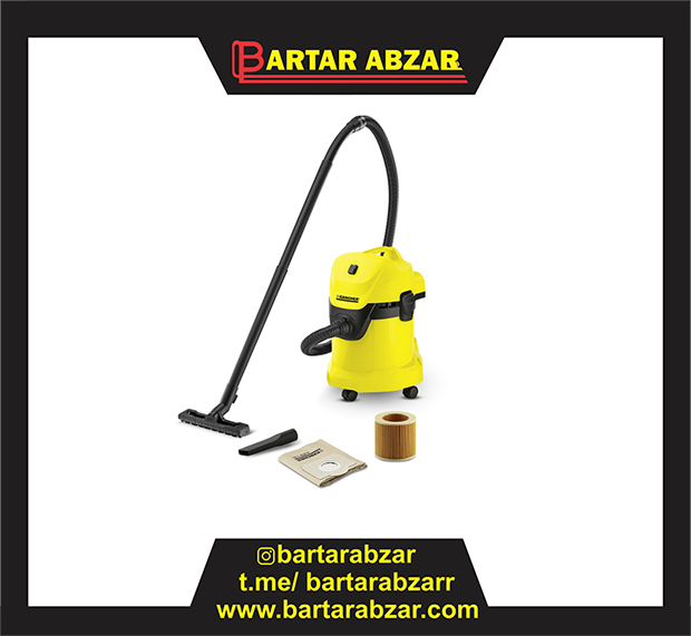 تصویر جاروبرقی سطلی کارشر ا KARCHER Vacuum Cleaner WD 4 Premium KARCHER Vacuum Cleaner WD 4 Premium