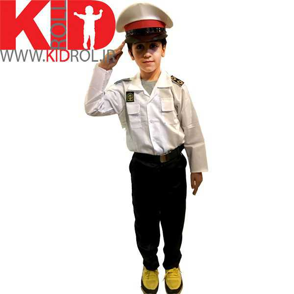 تصویر لباس پلیس بچه گانه