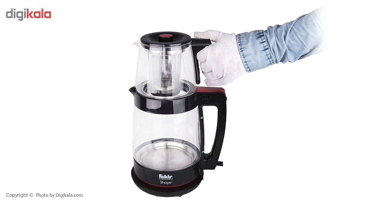 img چای ساز ترکی ناسا الکتریک مدل NS 516 ظرفیت 2.5 لیتر Nasa Electric NS-516 Turkish Tea Maker
