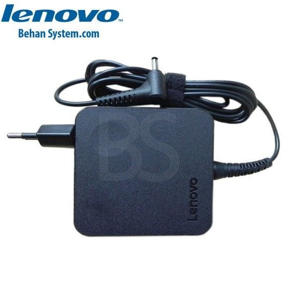 تصویر شارژر لپ تاپ Lenovo 45W 20V 2.25A فیش 4.0x1.7 میلی متر