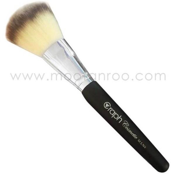 قلم موی آرایشی توپی پرس شده مناسب پودر زنی گراف