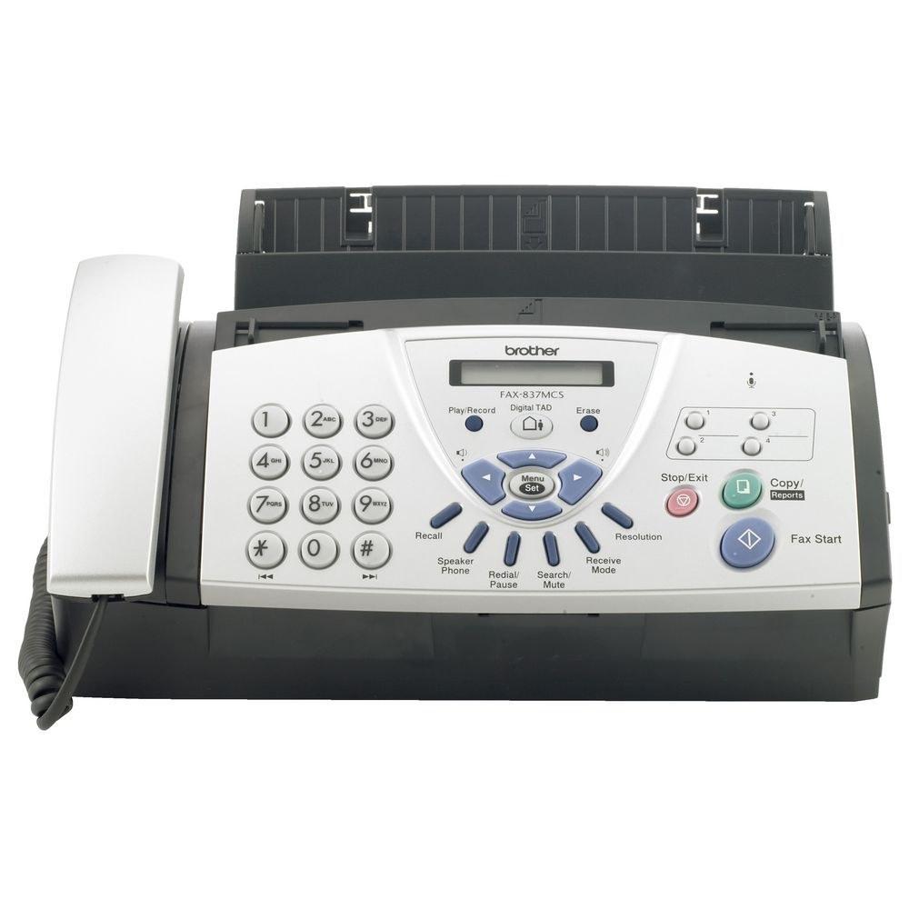 تصویر دستگاه فکس کاربنی FAX-837MCS برادر Brother FAX-837MCS Fax Machine