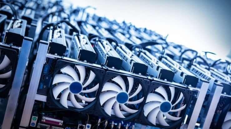 تصویر دستگاه ماینینگ 4 کارت (120 مگاهش) دستگاه ماینینگ مناسب برای استخراج اتریوم با 4 کارت گرافیک