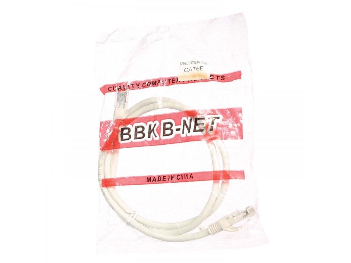 کابل شبکه CAT6 برند BBK طول 1 متر