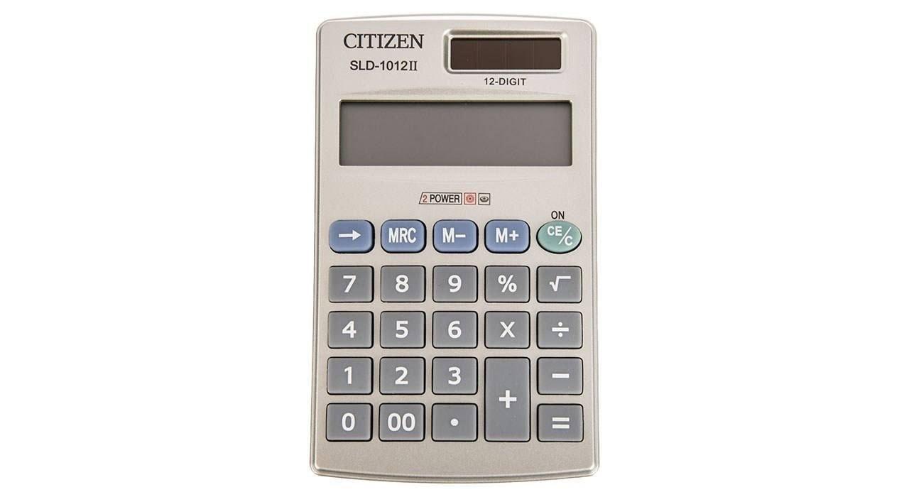 تصویر ماشین حساب SLD_1012llسیتیزن Citizen SLD_1012ll Calculator