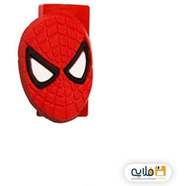 تصویر محافظ کابل شارژر مدل اسپایدرمن 002 Cable Protector Spider Man