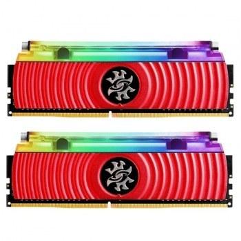 رم دسکتاپ ای دیتا مدل SPECTRIX D80 RGB Liquid Cooling دو کاناله DDR4 فرکانس 3000 مگاهرتز حافظه 16 گیگابایت