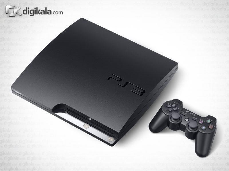 تصویر سونی پلی استیشن 3 - 160 گیگابایت Sony PlayStation 3 (Slim) - 160GB
