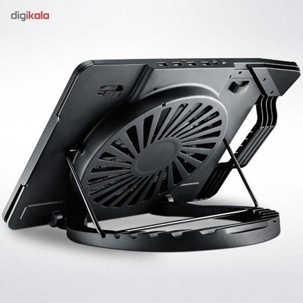 تصویر پایه خنک کننده کولر مستر مدل ERGOSTAND III Cooler Master ERGOSTAND III Coolpad