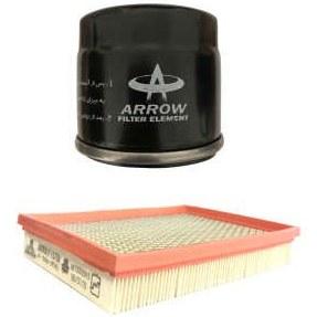 فیلتر روغن خودرو آرو کد 50735 مناسب برای پراید به همراه فیلتر هوا |