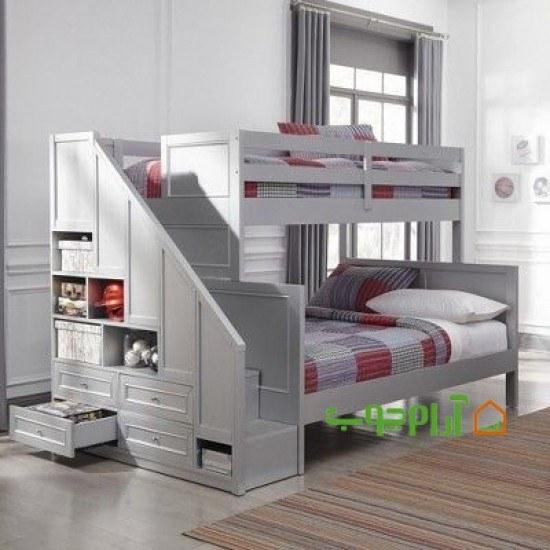 تخت دو طبقه مدل 756  