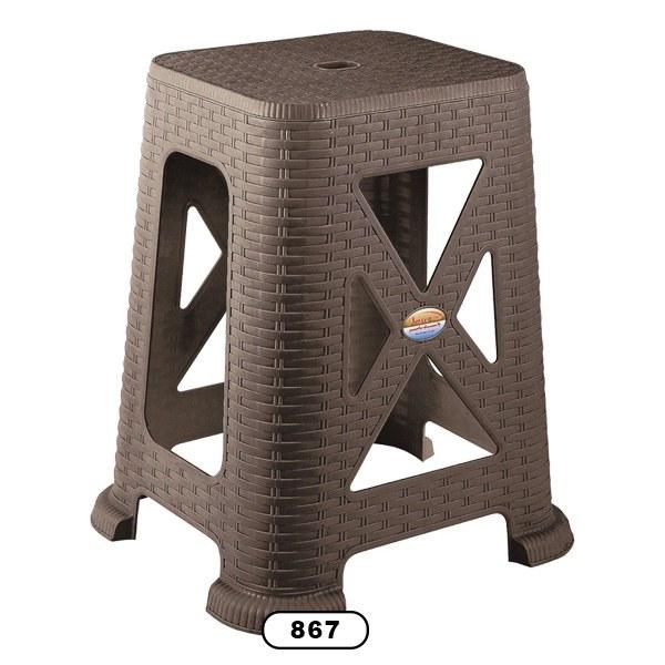 تصویر چهارپایه حصیری بلند مدل ۸۶۷ ناصر شش عددی