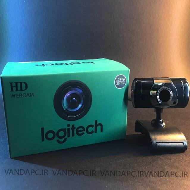 تصویر وب کم لاجیتک HD حرفه ایی سری 9 بامیکروفن