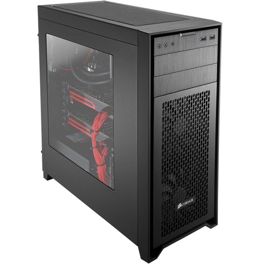 تصویر کیس کورسیر ابسیدین مدل 450 دی کیس Case کورسیر Obsidian 450D Mid-Tower PC Case