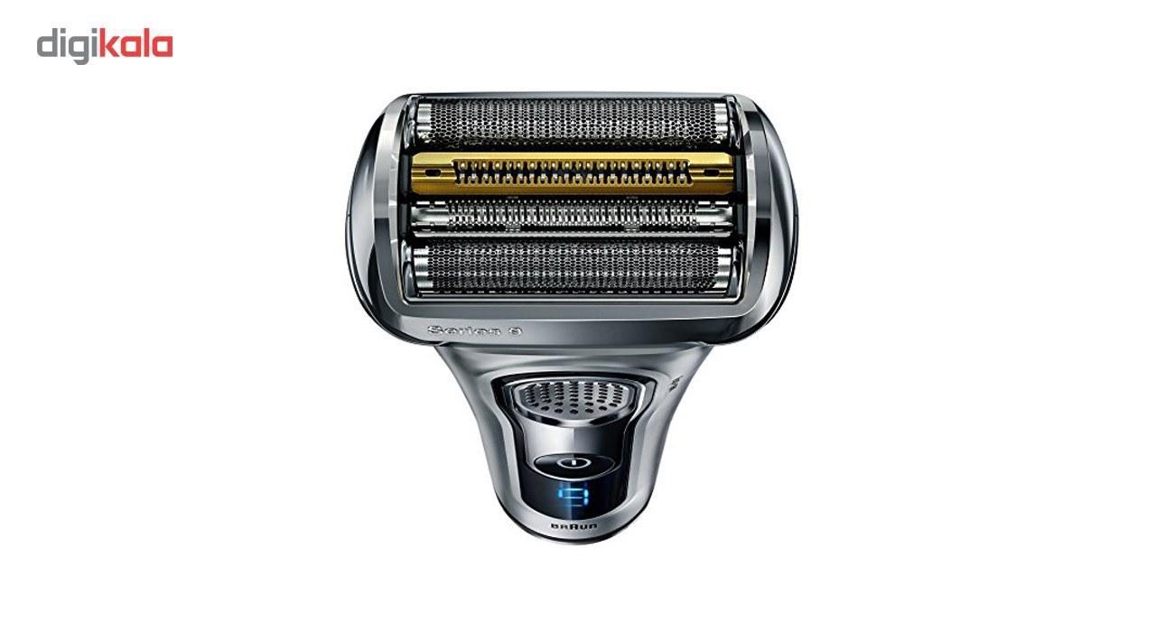 تصویر ماشین اصلاح صورت براون مدل 9290CC Braun 9290CC Trimmer