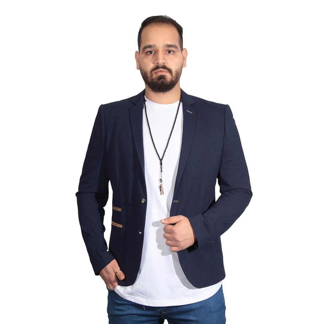 تصویر کت تک مردانه سایز بزرگ دمیر کد1149