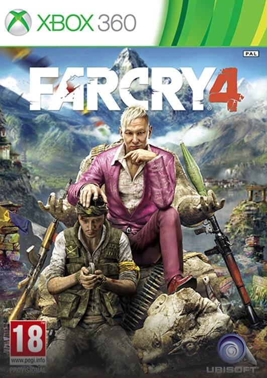 تصویر خرید بازی Far Cry 4 فارکرای 4 برای XBOX 360