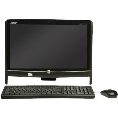 تصویر کامپیوتر آماده ایسر با پردازنده i3 و با صفحه نمایش لمسی کامپیوتر آماده AIO ایسر Veriton-Z2611G-Core-i3-2GB-500GB-Intel-Touch