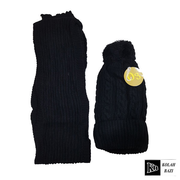 main images شال و کلاه بافت مدل shk52 Textured scarf and hat shk52
