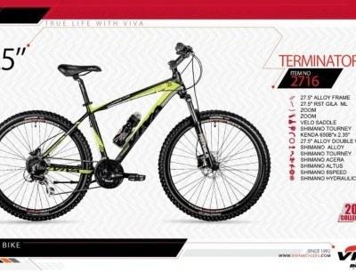 دوچرخه کوهستان ویوا مدل ترمیناتور کد 2716 سایز 27.5 -  VIVA TERMINATOR18- 2019 collection با ارسال رایگان