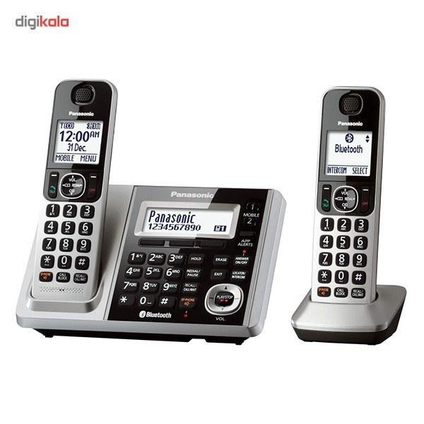 تصویر گوشی تلفن بی سیم پاناسونیک مدل KX-TGF372 Panasonic KX-TGF372 Cordless Phone