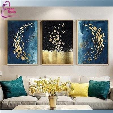 تابلو نقاشی پروانه مشکی