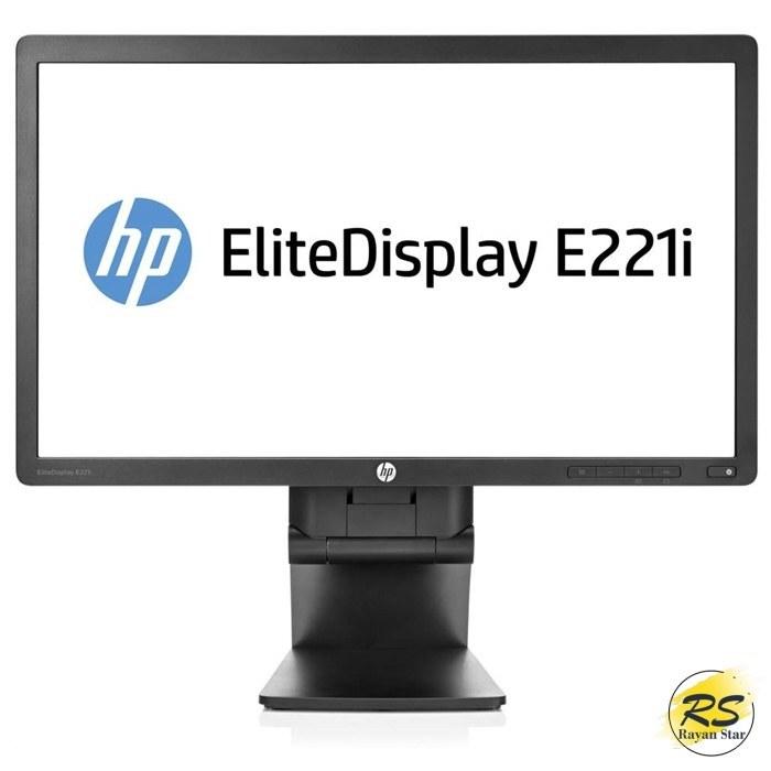 تصویر مانیتور 22 اینچ اچ پی مدل HP E221i IPS LED