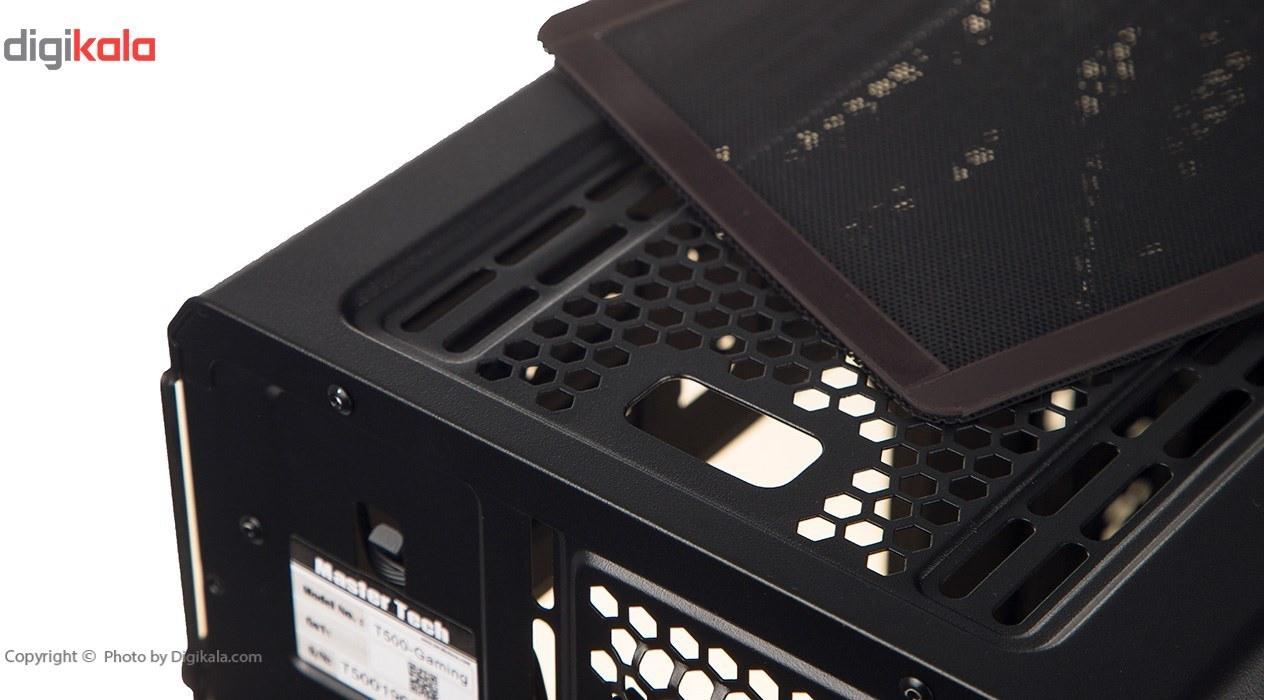 img کیس کامپیوتر مسترتک مدل تی ۵۰۰ گیمینگ Master Tech T500 Gaming Computer Case