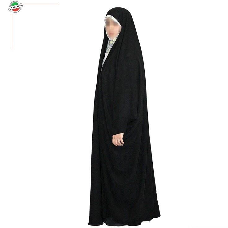 چادر جده عبای عربی با پارچه چادر مشکی حریر اسود ایرانی |
