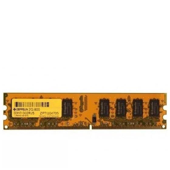 تصویر رم دسکتاپ DDR2 تک کاناله 800 مگاهرتز زپلین ظرفیت 2 گیگابایت ا Zeppelin DDR2 800MHz Desktop RAM - 2GB Zeppelin DDR2 800MHz Desktop RAM - 2GB