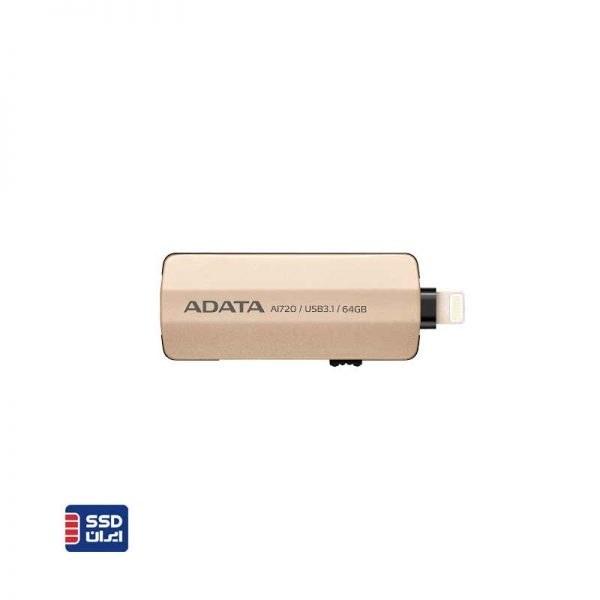تصویر فلش مموری ای دیتا مدل i-Memory AI720 ظرفیت 32 گیگابایت ADATA i-Memory AI720 Flash Memory 32GB