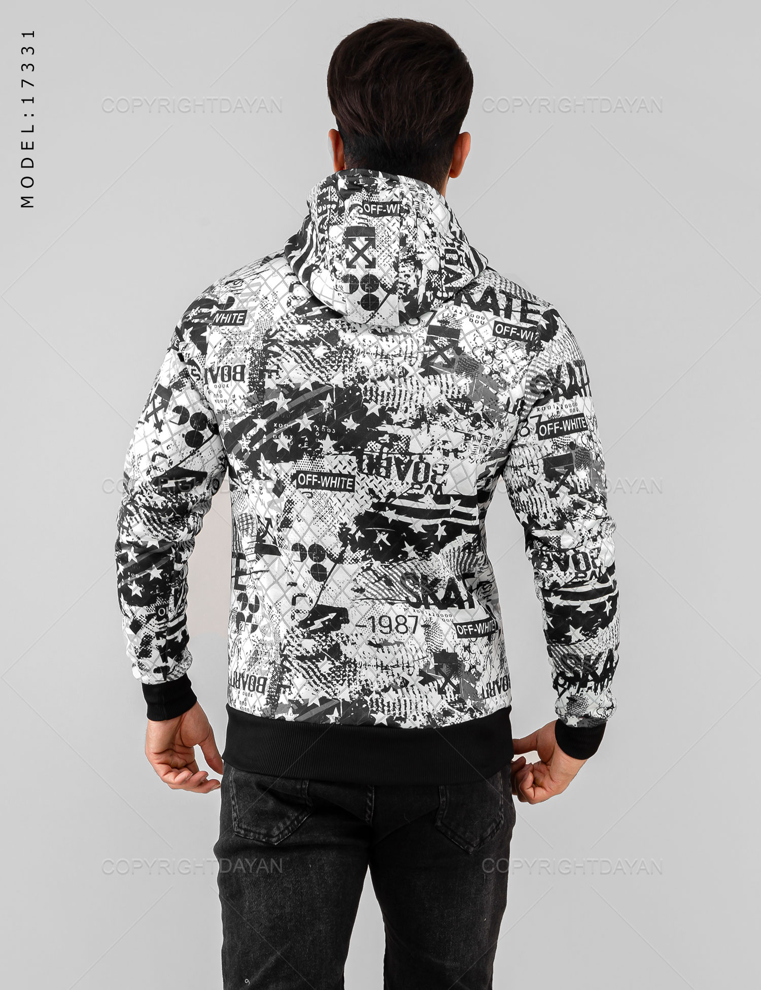 main images سویشرت مردانه Off-White مدل 17331