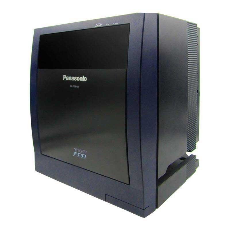 تصویر سانترال VoIP و تحت شبکه پاناسونیک مدل KX-TDE200 Panasonic KX-TDE200 IP PBX
