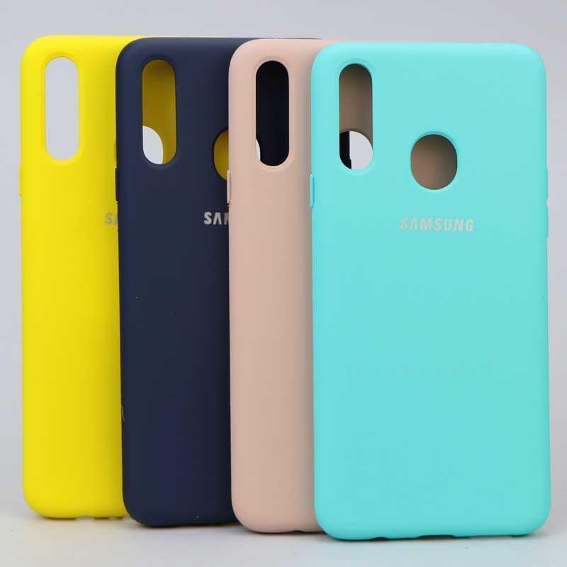 تصویر قاب سیلیکونی Samsung A20s Siliconi Cover Case For Samsung A20s