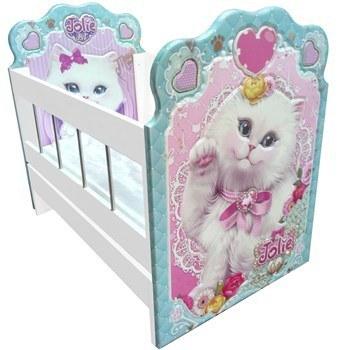 تخت و گهواره لوکس پنل مدل جولی | Luxpanel  Jolie Cat Cradle