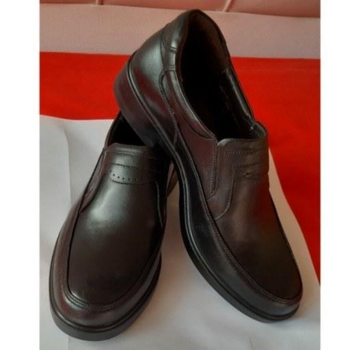 عکس کفش مردانه چرم طبیعی دستدوز آرکا مدل 007  کفش-مردانه-چرم-طبیعی-دستدوز-ارکا-مدل-007