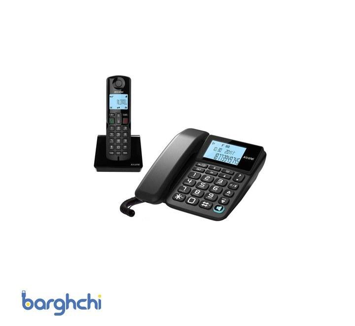 تصویر Alcatel s250 combo تلفن بی سیم آلکاتل مدل S250 Combo