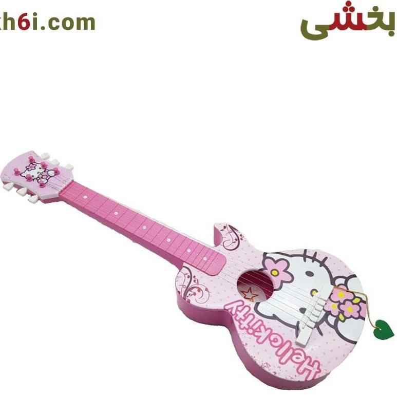 گیتار طرح عروسکی شخصیتی سایز متوسط |