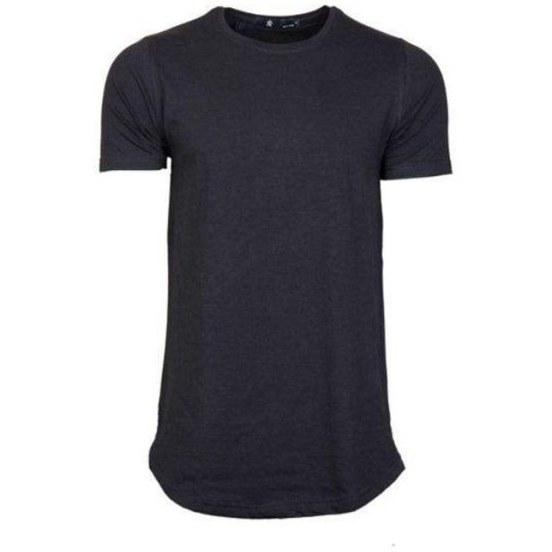 تی شرت مردانه لانگ ساده |
